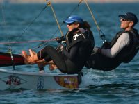 Waterhouse's win Masters Division at Hobie 16 World's!