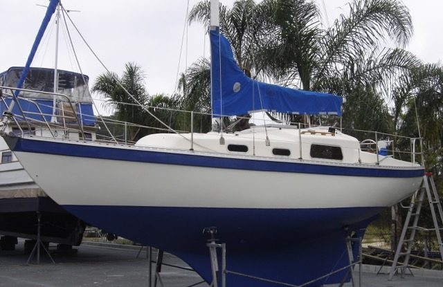My first yacht - Compass 29