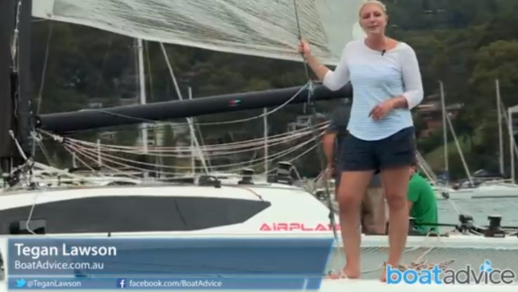 Airplay 30 Trimaran Gets Reviewed by BoatAdvice